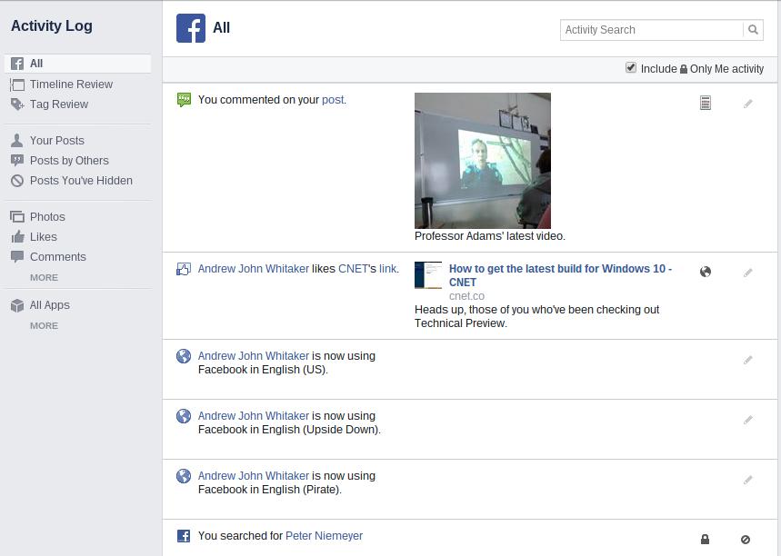 Facebook 8