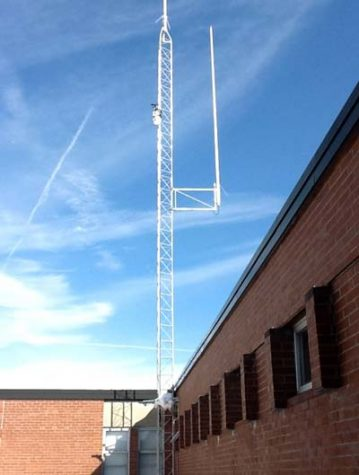New Radio Tower and Weather Station
