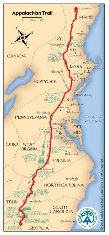 Math Teacher Courtenay Gibson's 2,200 Mile Journey