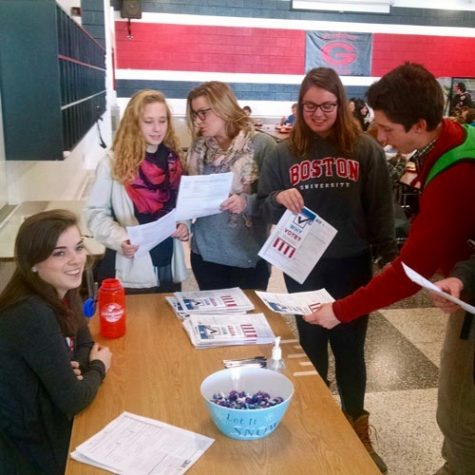 Students Register to Vote