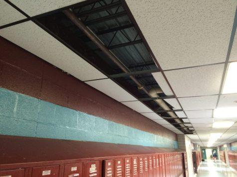 Minor Leak in Middle School Water Line