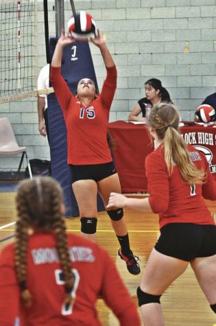 Volleyball Beats Mt. Everett