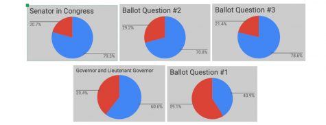Weeks After Midterms, Mock Election Data Provides Insight Into Schoolwide Views