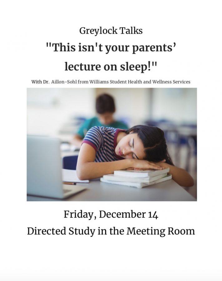 Greylock Talks: Lara Aillon-Sohl Discusses Sleep – The