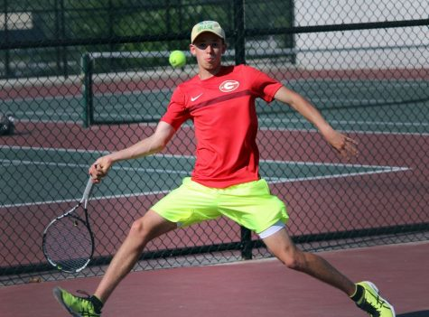 Fink, Boys' Tennis Take Win at Mount Everett