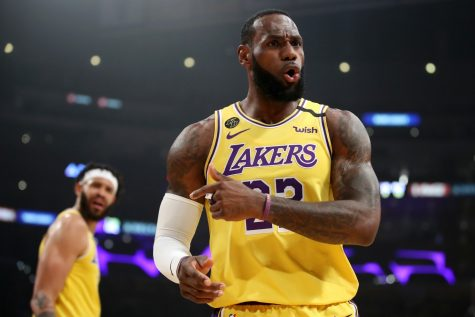 Lebron leads the Lakers to the Brink of a Championship