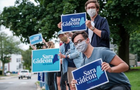 Photo Courtesy of the Sara Gideon Campaign
