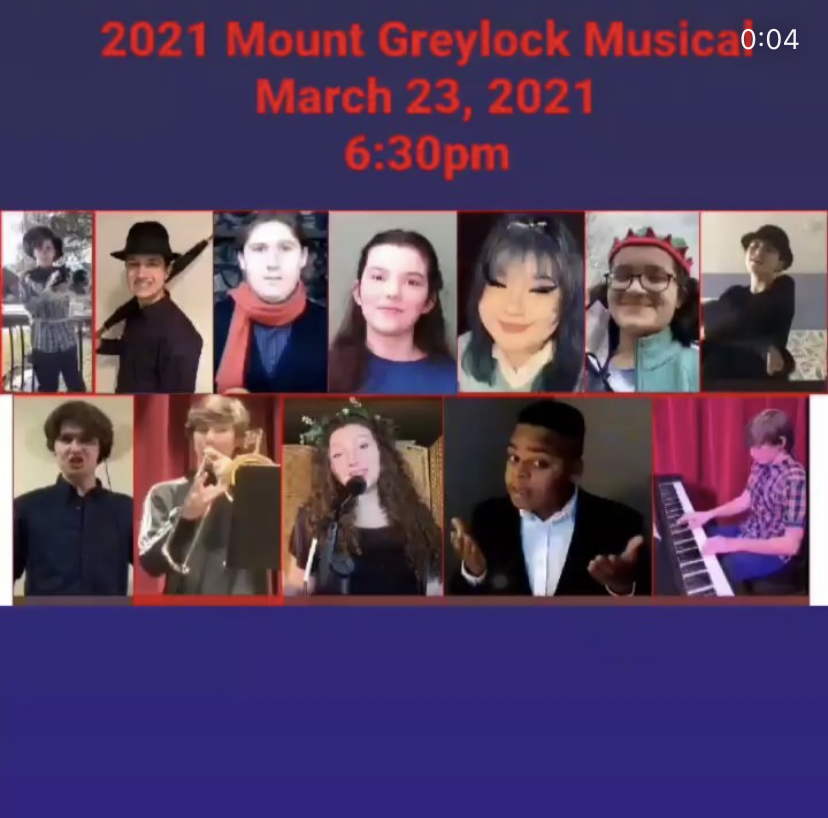 Mount Greylock Students Perform in Virtual Musical