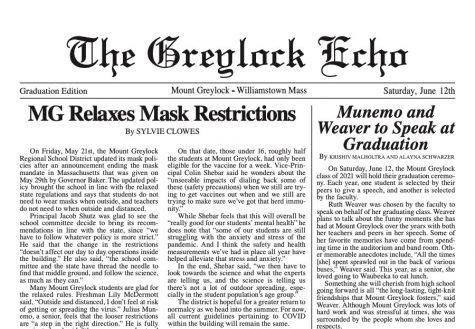June 12, 2021 Print Edition: Graduation Issue